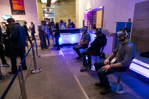 Virtual Reality event at National Museum of Scotland