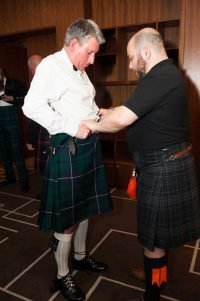 Kilt Dressing session - credit S Williams
