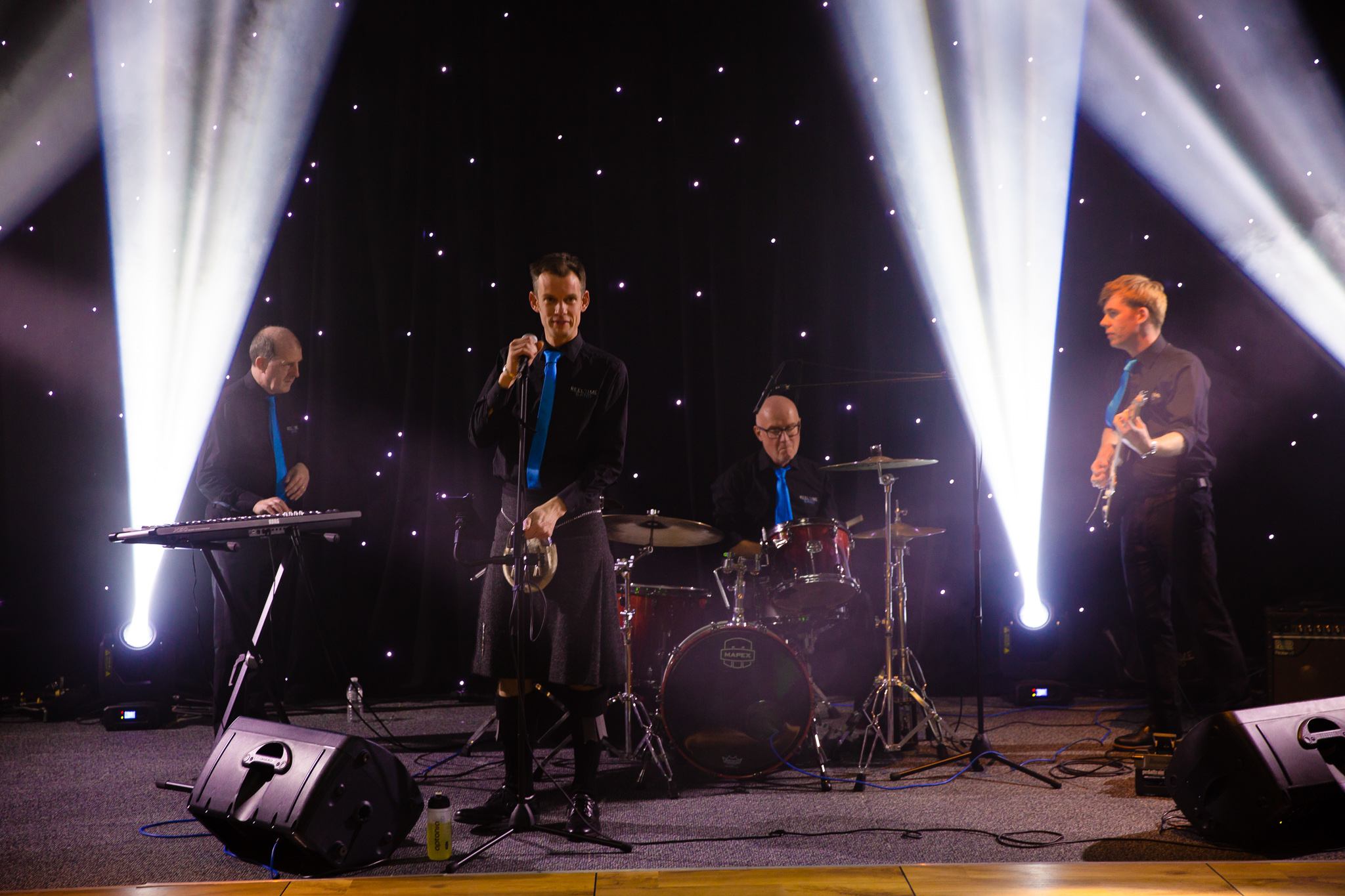 Scottish Spectacular The Reel Time Band at EICC for Herbalife
