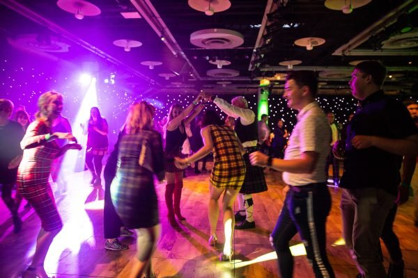 Scottish ceilidh dancing EICC Edinburgh