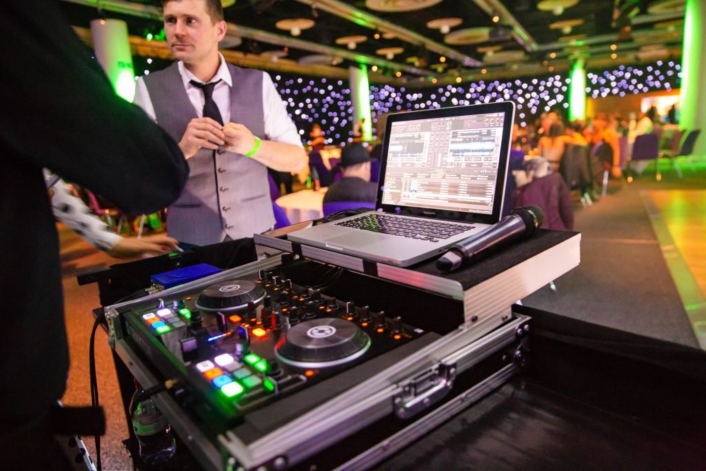 Scottish DJ for corporate events Edinburgh