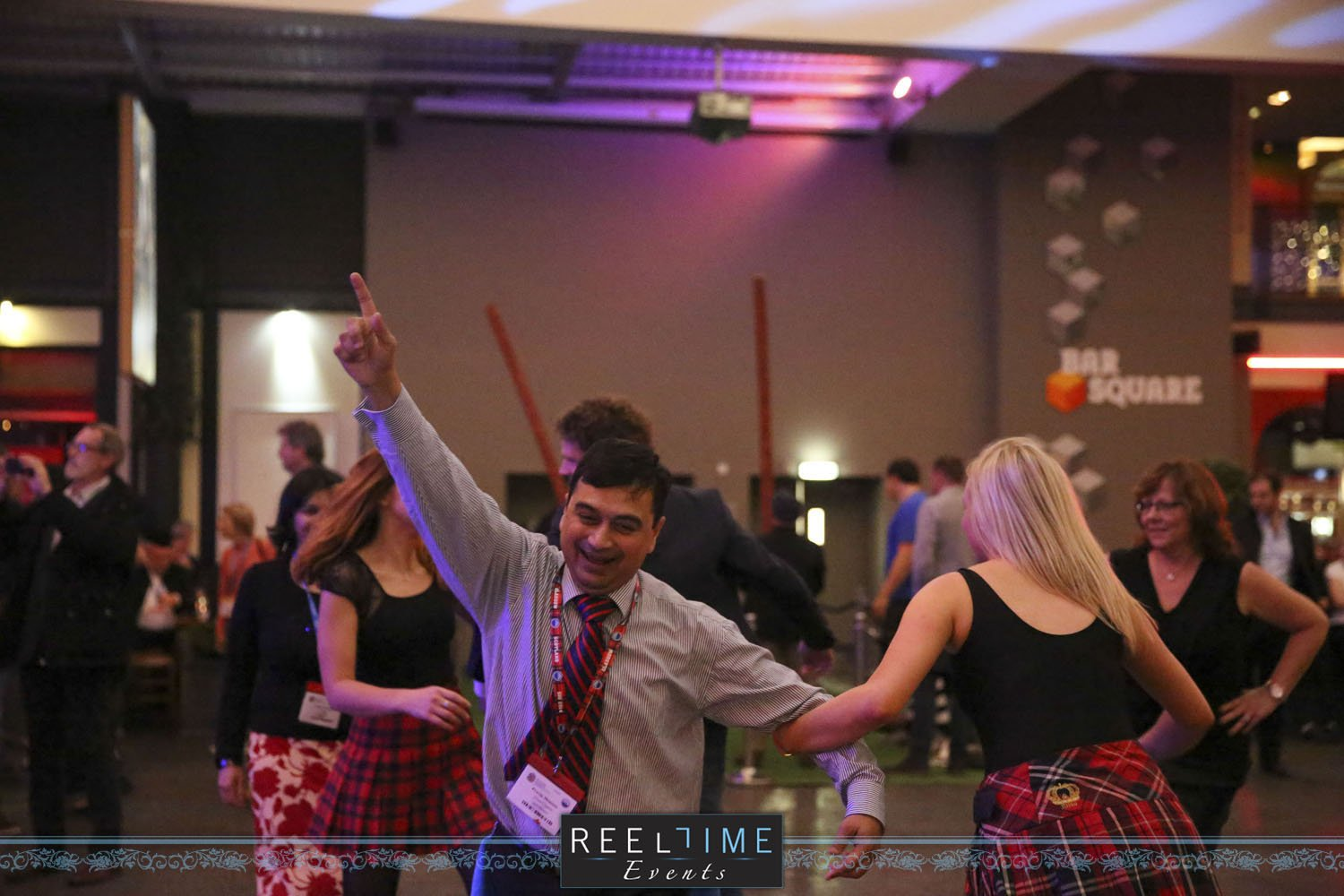 Conferences - Ceilidh Band Dancer