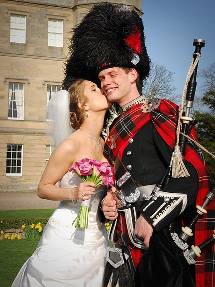David Ho - Bagpiper and the Bride