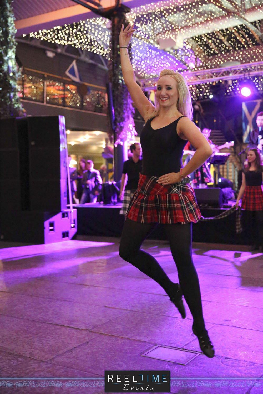 Evening Entertainment - Mini Kilt Tartanium Dancer