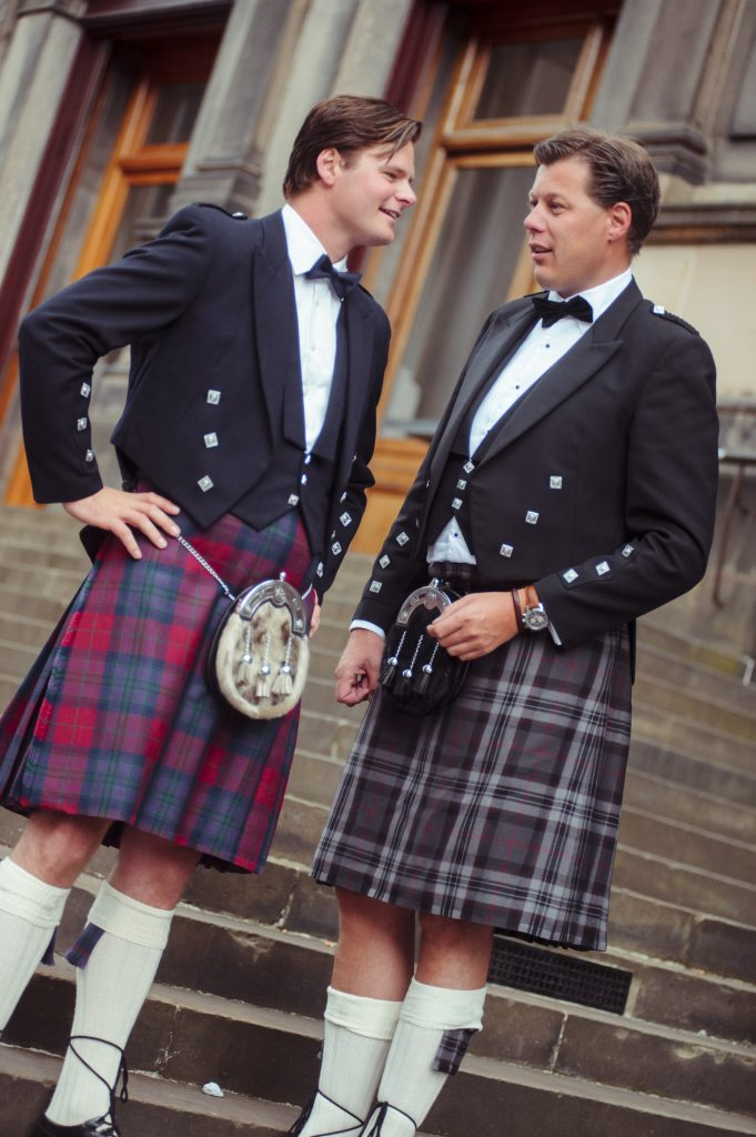 Group Kilt Hire for Corporate and Conference Groups