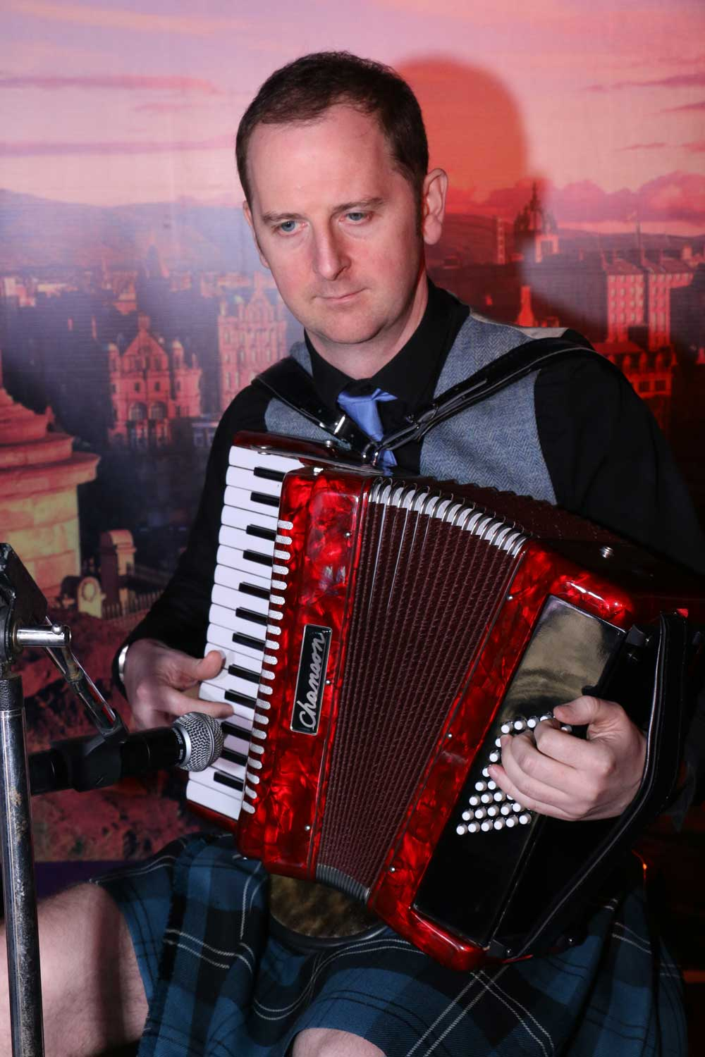 Reel Time Musicians - Accordion Player
