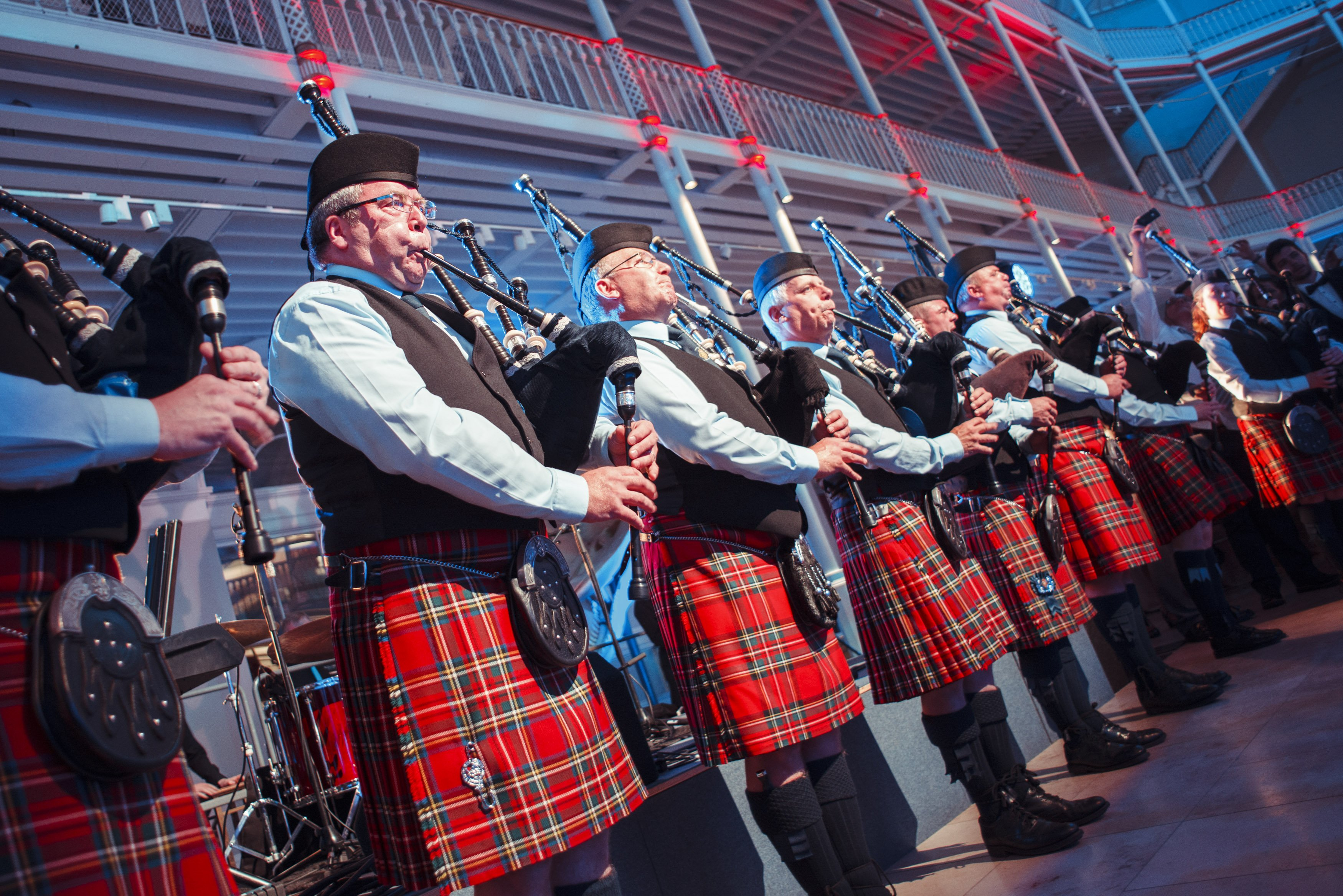 Reel Time Musicians - Pipe Bands at Meeting and Incentive Forum, Edinburgh