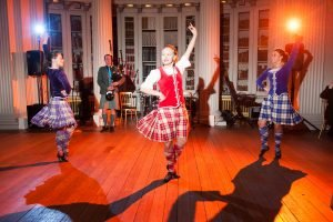 scottish dancer display