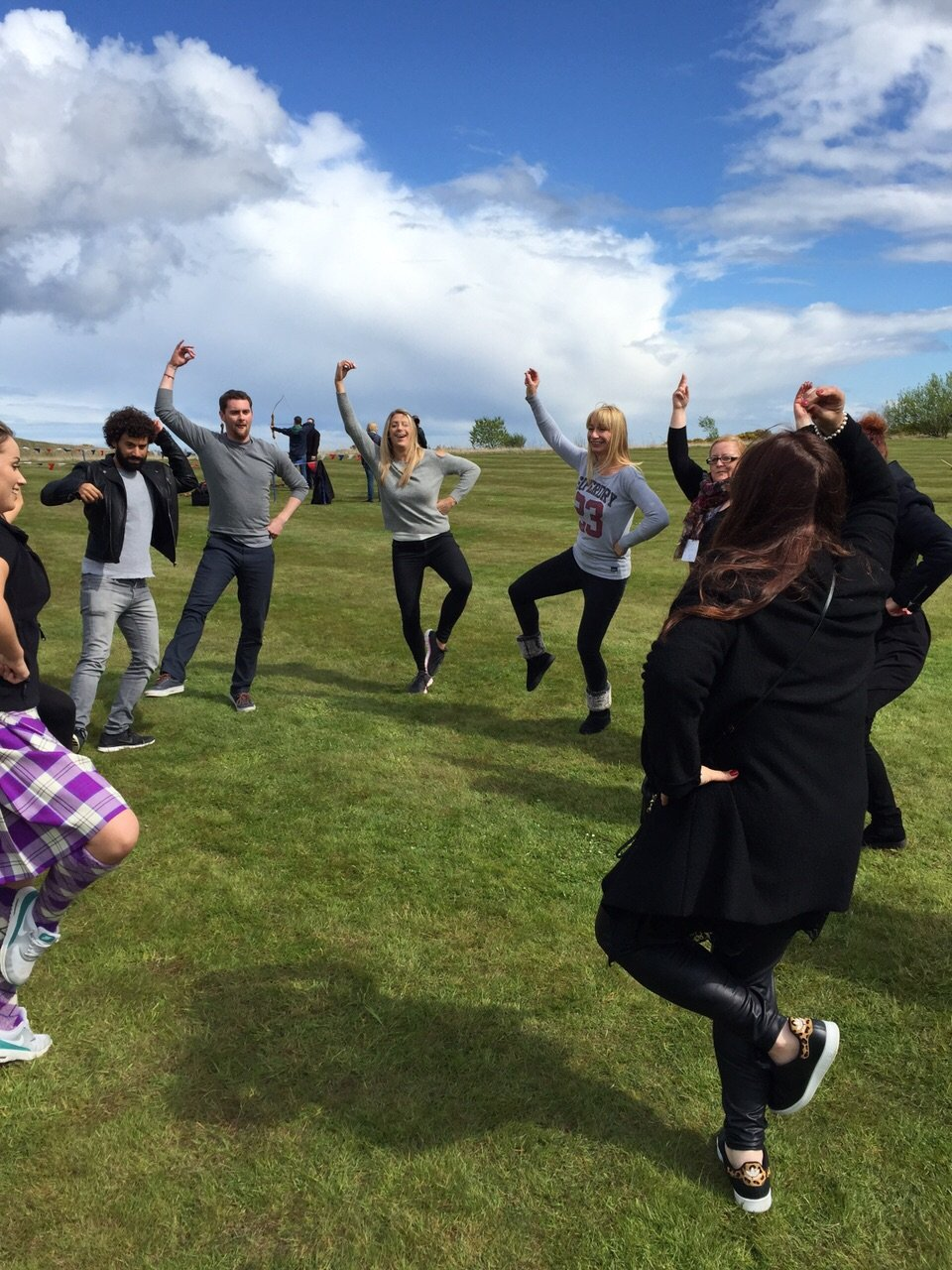 Reel Time Team Building - Highland Dance Experience