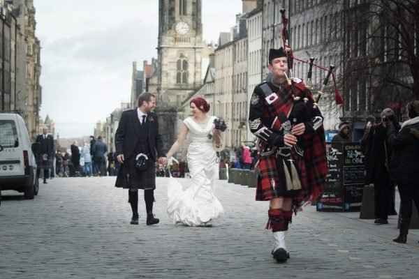 Reel Time - Wedding Bagpiper Hire