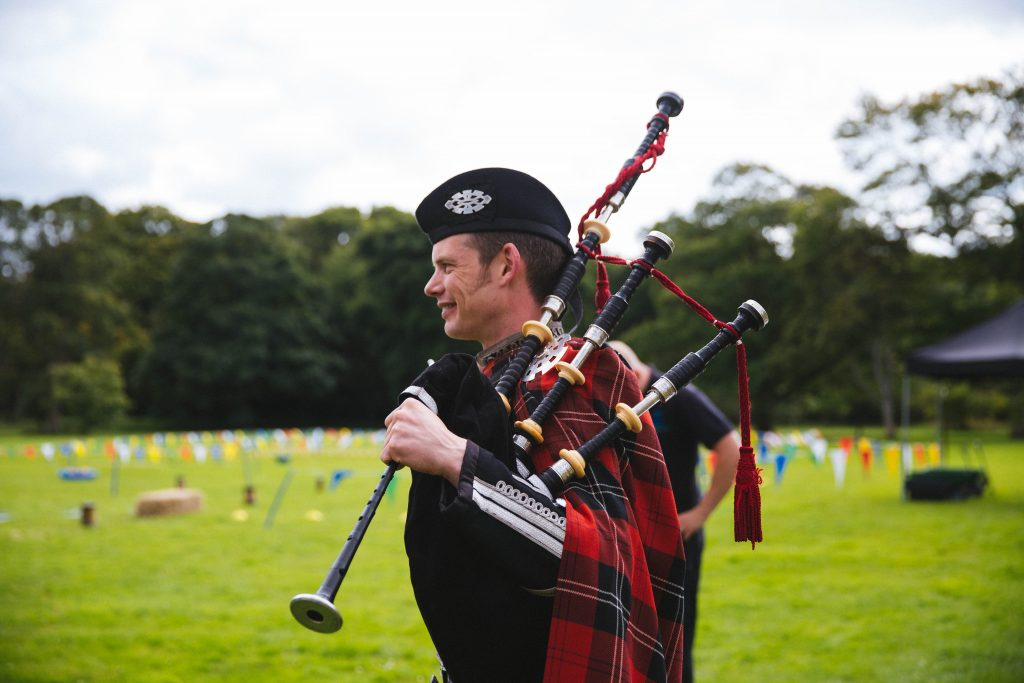 Fun interactive bagpipe lessons