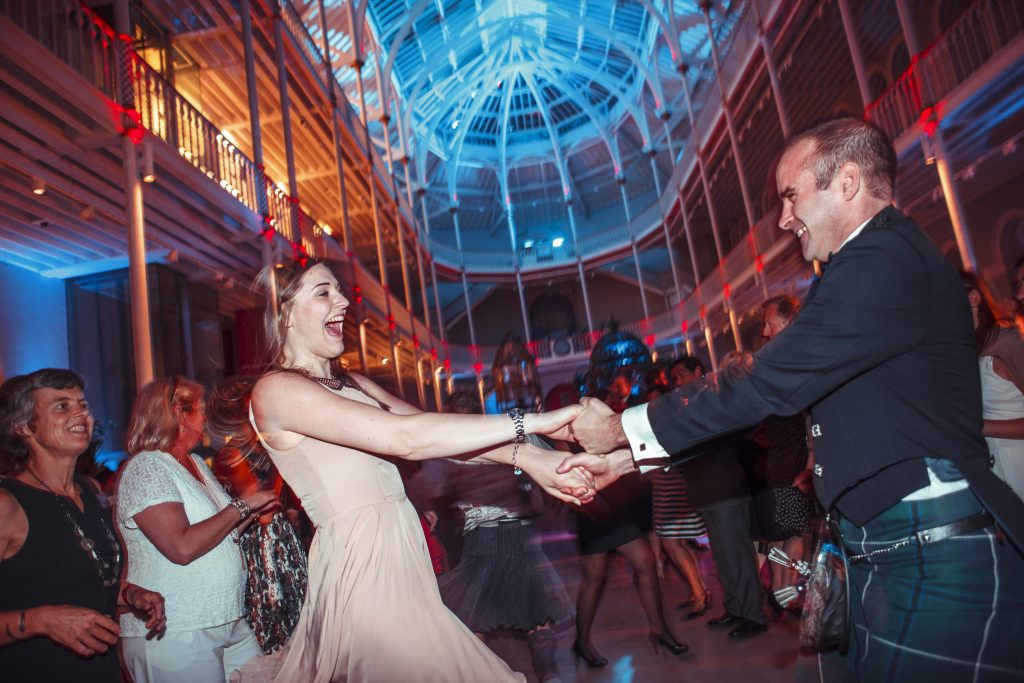 ceilidh at the museum