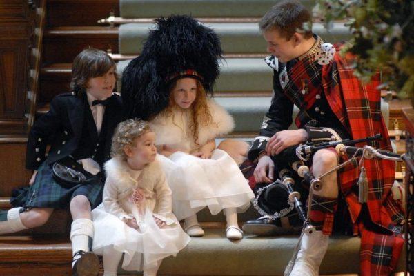 Scottish events: Roddy at wedding, Tony Marsh photography