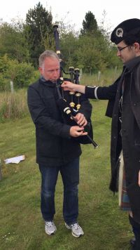 Reel Time Media - Bagpipe Lesson